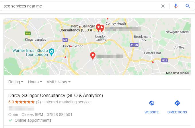 Google My Business | Digital Marketing | Hertfordshire
