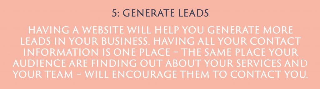 Generate Leads | Digital Marketing | Amber Mountain Marketing