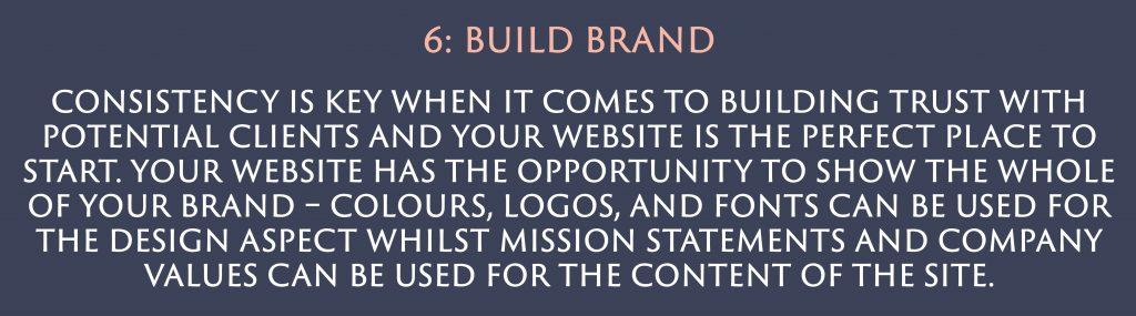 Build Brand | Digital Marketing | Amber Mountain Marketing