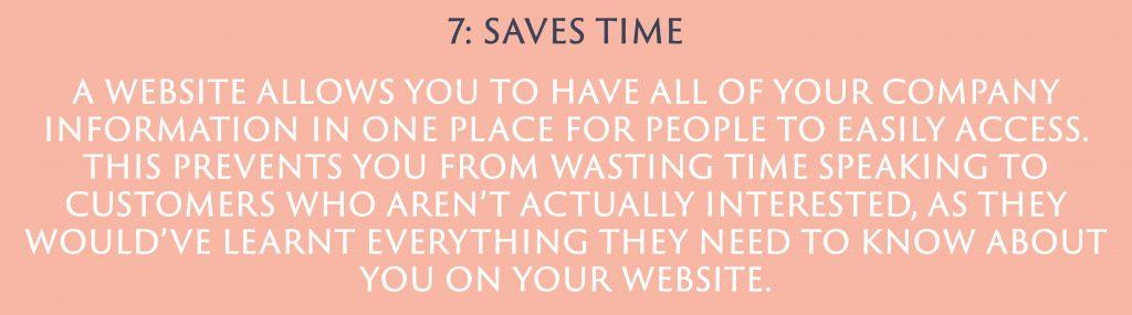 Saves Time | Digital Marketing | Amber Mountain Marketing