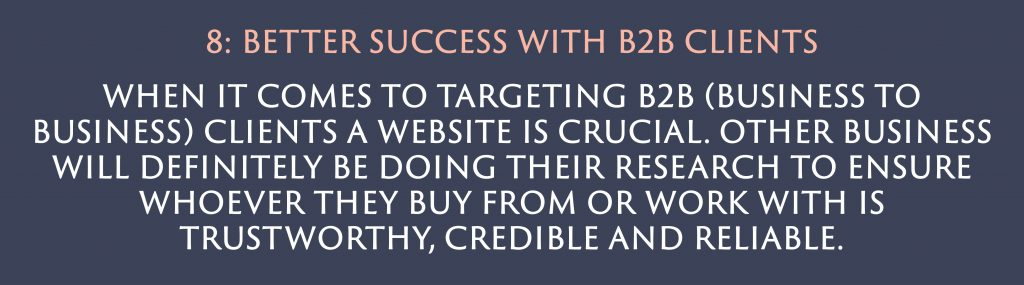 Better success with B2B clients | Digital Marketing | Amber Mountain Marketing