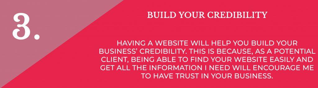 Build Your Credibility   Digital Marketing   Amber Mountain Marketing