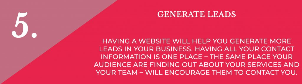 Generate Leads   Digital Marketing   Amber Mountain Marketing