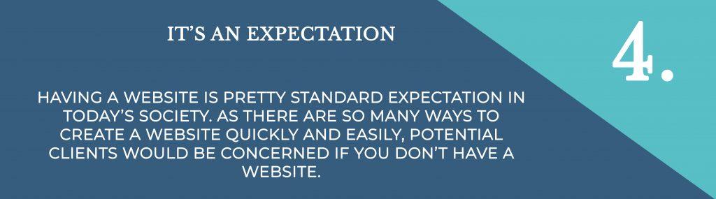 Its An Expectation   Digital Marketing   Amber Mountain Marketing